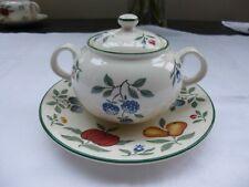 Royal Stafford Toscana  Sugar/Jam Pot & Saucer