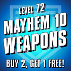 Borderlands 3 [WEAPONS] Buy 2 Get 1 Free [LEVEL 72 M10] BL3 Guns [ALL PLATFORMS]
