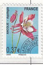 #161 FRANCE préoblitéré 2008 - n°253 ancolie NEUF**