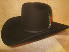 New Stetson Rancher Chocolate 6X Beaver Felt Cowboy Hat