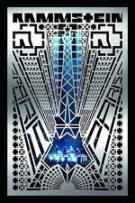 RAMMSTEIN - PARIS BLU RAY (2017)  128 MINUTE CONCERT + MAKING OF  BRAND NEW!