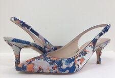 New L. K. Bennett Sz 37 Florita Floral Emilia Print Slingback Sandals Pump Sz 37