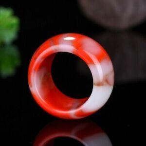 Hotan jade Gobi jade gold wire jade chicken blood ring finger Ring