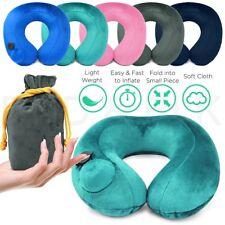 Надувной воздушный насос для путешествий подушка для шеи комфортный U-форма самолет подушка