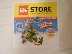 Lego Store Newsletter Nov- Dec ( Christmas)  2016