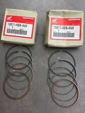 HONDA VT250 VT250F VF500 PISTON RING STD SET (QTY.2) NOS 13011-KE8-000
