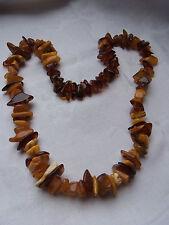 Bernsteinkette Baltic Sea Amber Bernstein Kette Butterscotch Necklace Natur 156