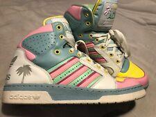 Adidas Jeremy Scott Miami Hi-tops | Rare | Size: UK 10/EU 44 | Worn once