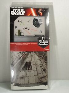 Disney Star Wars 21 Wall Decals Stickers Removable Repositionable Reusable Home