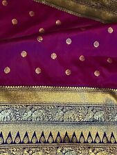 Pure Kanjeeveram Silk Saree With  Heavy Rich Zari Border