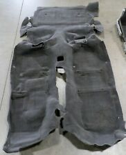2000-2002 Camaro Firebird Ebony T-Top Coupe Carpet Set Complete USED OEM GM