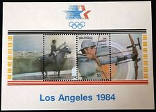 Belgium Block 1984 Los Angeles Olympic Games - MNH - Complete