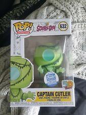 Funko Pop Scooby Doo Captain Cutler #632 Funko Shop Exclusive