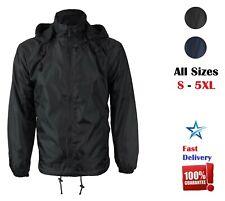 Men's Waterproof Polar Fleece Lined Hooded Windbreaker Rain Thermal Jacket Sale