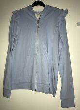 Brand New Ladies Next Pale Blue Hooded Lounge Top. Size 12