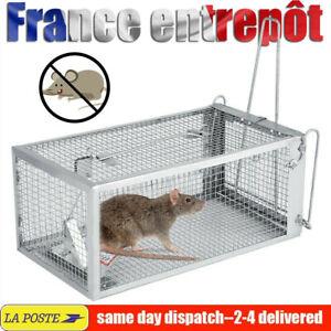 Durable Piège à rats Ratière Souris Rongeurs Cage Nuisibles Grillage Trappe Mice