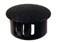 """Black Nylon Plugs 7/16"""" Dia. - Lot of 850"""