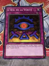 Carte YU GI OH L'OEIL DE LA VERITE YGLD-FRA40 x 3