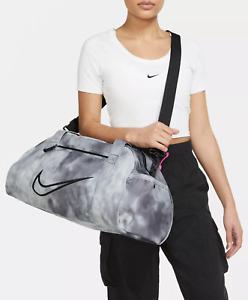 Nike Gym Club 2.0 AOP Bag Womens Sports Duffel Pack Gym Smoke Gray DB9873 084