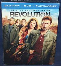 REVOLUTION: THE COMPLETE FIRST SEASON (BLU-RAY+DVD)