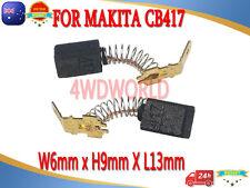 Carbon Brushes For Makita CB417 CB415 CB415 CB416 CB402 HR2400 NHP1310 6X9X13mm