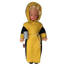 "Vintage Moll's Trachten Puppen German Monk Doll 10"""