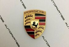 Porsche OEM NEW Steering Wheel AirBag Badge Emblem Crest Cayenne Macan Panamera