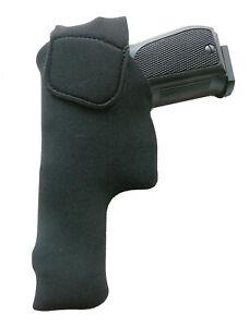 Pistolen-Innenholster Rechtshänder (Inside-Holster) UNIVERSAL- mit Clip-schwarz