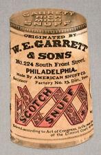 Original 1943 Garrett Snuff Tobacco Advertising Premium Booklet