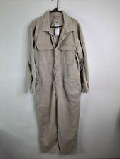 CARHARTT  FR Flame Resistant Coverall Khaki Beige Men's 44 short 101017 250