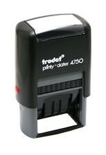 Trodat 4750L4 Date with RECEIVED, PAID, ENTERED, FAXED Self-inking Stamp