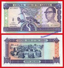 GAMBIA 50 Dalasis  1989-1995 Pick 15  SC  / UNC