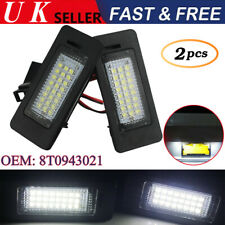 LED License Licence Number Plate Light Lamp Fit Audi A4 A5 Q5 S5 TT VW 8T0943021