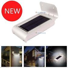 1pc 16LED energía solar sensor movimiento seguridad aire libre lámpara jardín OP