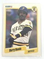 1990 Barry Bonds Fleer Baseball Card #461