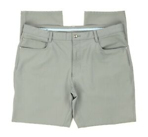 Footjoy FJ Athletic Fit 5-Pocket Performance Golf Pants - Gray Mens Size 38 X 30