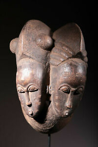 Art African Mask Baoulé 1568