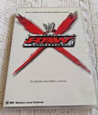 WWW: TENTH RAW ANNIVERSARY – DVD, REION-1, LIKE NEW, FREE POST IN ASUTRALIA