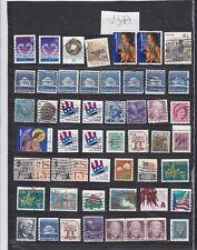 timbres usa us États-Unis