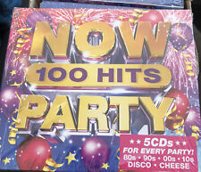 More details for now 100 hits party (various artists) 5 cd set (2019) (new & sealed) free post