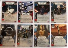 Star Wars Destiny Empire at War Legendary Card with Dice Selection