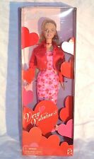 very valentine barbie doll 2000 never removed from box 28360