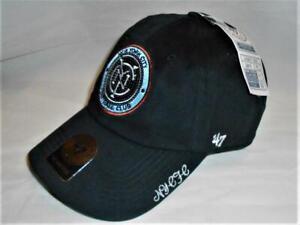 Too Cute! New MLS New York City FC Womens Fashion '47 Brand Adjustable Hat _B101