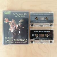 ON THE SUNNY SIDE OF THE STREET THE BEST OF LOUIS ARMSTRONG CASSETTE TAPE