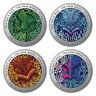 4 x 1 Dollar The Four Winds Silver Coin Set Neuseeland 4 x 1/2 oz Silber PP 2020
