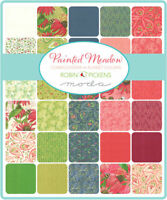 "Painted Meadow by Robin Pickens for Moda 5"" Squares Charm Pack 48660PP"