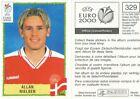 N°034 ALLAN SIMONSEN EURO FOOTBALL 76 STICKER PANINI VIGNETTE DENMARK DANMARK