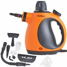 VonHaus Hand Held Portable Electric Steam Cleaner Steamer & Accessories