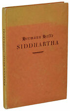 Siddhartha ~ HERMANN HESSE ~ First Edition ~ 1st Printing ~ German 1922