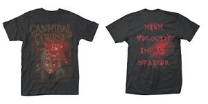 CANNIBAL CORPSE- IMPACT SPATTER Official T Shirt Mens Licensed Merch New